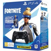 Джойстик беспроводной Sony DualShock 4 V2, Black + Fortnite (CUH-ZCT2E)